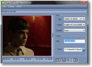 Gogo DVD to 3gp Converter 1.3.8 - náhled