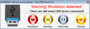 Free USB Guard 1.42 - náhled