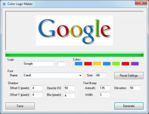 Color Logo Maker 1.0.2 - náhled