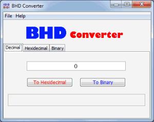 BHD Converter 1.0.0.0 - náhled