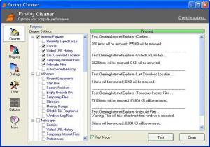 Eusing Cleaner 5.3 - náhled