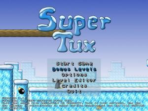SuperTux 0.1.3 - náhled