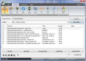 Axara Audio Converter 3.2.0 - náhled