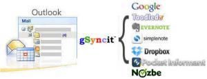 gSyncit 4.0.335 - náhled