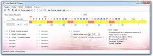 SuArP Rozpis Portable 3.02 - náhled