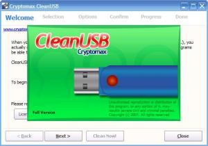 CleanUSB 1.0 - náhled