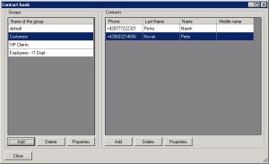 SMS Performer 1.3 - náhled