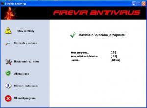 FireVir Antivirus 1.0 - náhled