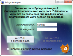 Springs Autologon 1.0.3 - náhled