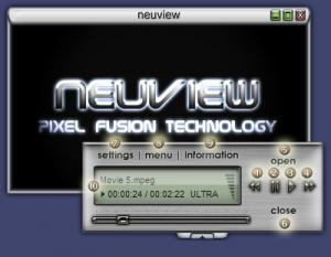 Neuview Media Player 6.08 - náhled