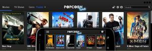 PopcornTime 4.3 Beta - náhled