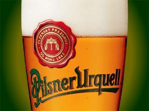 Sklenice plzeňského piva - náhled