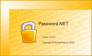 Password.NET 1.0.2.0 - náhled