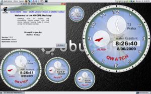 QWatch - jednoduché grafické hodiny s alarmemem 1.0.83 - náhled