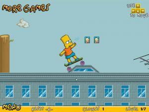Bart on Skate 1.0 - náhled