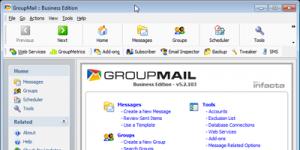GroupMail 6.0.0.30 - náhled