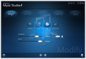 Ashampoo Music Studio 6.0.2 - náhled