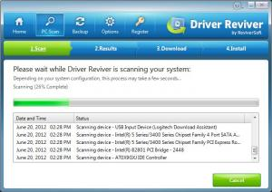 Driver Reviver 5.12.1.2 - náhled