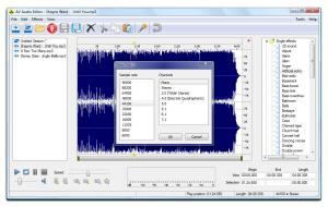AV Audio Editor 2.0.2 - náhled
