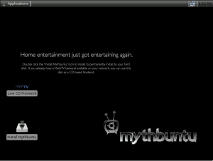 Mythbuntu Standard PC x86 Images 14.04.1 - náhled