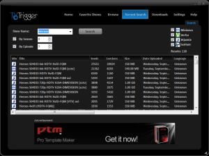 TVTrigger 1.4.2 - náhled