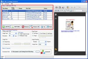 PDF To Image Creator 4.3 - náhled