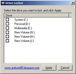Drive Locker 1.0 - náhled