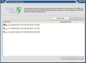 ToolWiz Smart Defrag 1.3.0.0 - náhled