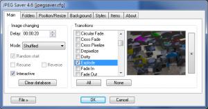 JPEG Saver 5.1 - náhled