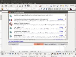 LibreOffice 5.3.2 - náhled