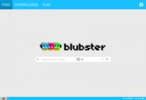 Blubster 4.0.4 - náhled
