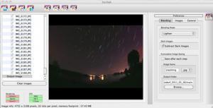 StarStaX 0.60 - náhled