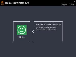 ToolbarTerminator 2016 - náhled