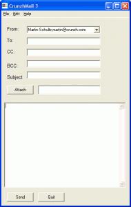CrunzhMail 3.31 - náhled