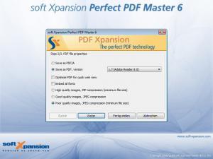 Perfect PDF Master 6.0.5 - náhled