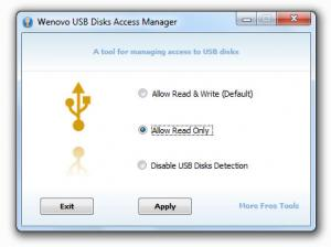 USB Disks Access Manager 1.0 - náhled
