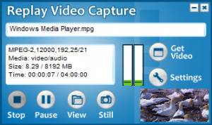 Replay Video Capture 8.6.0 - náhled