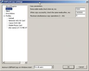 USBFlashCopy 1.16 - náhled