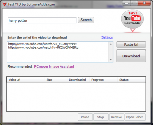 Fast Video Downloader 2.3.0.5 - náhled