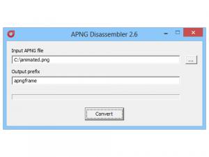 APNG Disassembler 2.7 - náhled