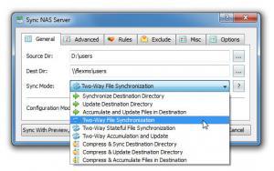SyncBreeze 10.0.28 - náhled