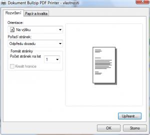 BullZip PDF Printer 10.25.0.2552 - náhled