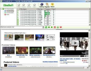 FLV Downloader 1.01 - náhled