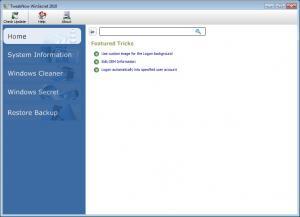 TweakNow WinSecret 2012 4.0.0 - náhled