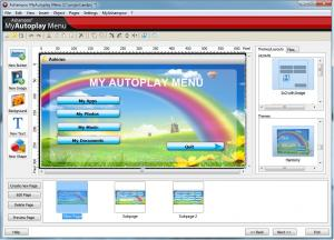 Ashampoo MyAutoplay Menu 1.0.5 - náhled