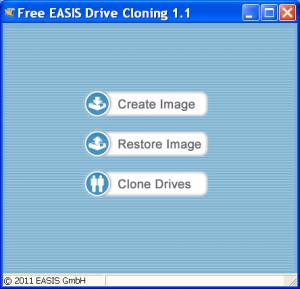 EASIS Drive Cloning Trial 1.1 - náhled