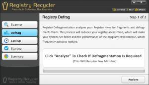 Registry Recycler Portable 0.9.2.5 - náhled
