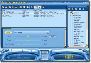 AV MP3 Player Morpher 4.0.101 - náhled
