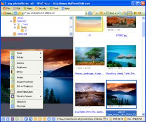 WinTrezur Portable 1.1.0 - náhled