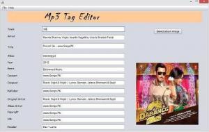 Java Mp3 Tag Editor 1.0 - náhled